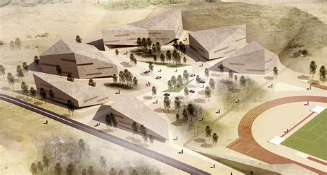 mateusz tanski chosen  design  sports complex  poland