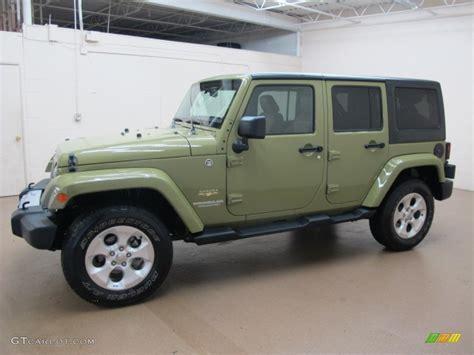jeep unlimited green commando green 2013 jeep wrangler unlimited sahara 4x4