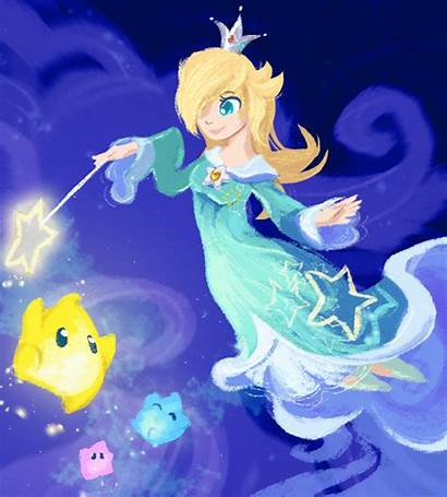 Rosalina Princess Mario Deviantart Super Luma Starfy