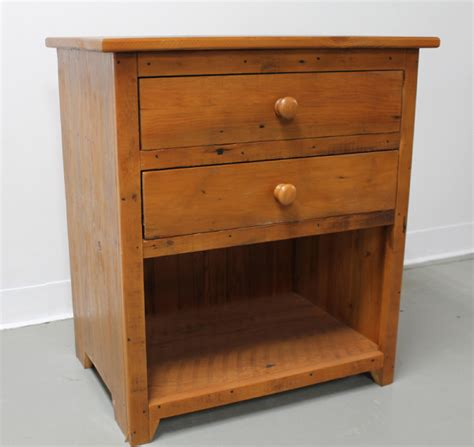 Open Nightstand by 2 Drawer Nightstand With Open Shelf Lake And Mountain Home