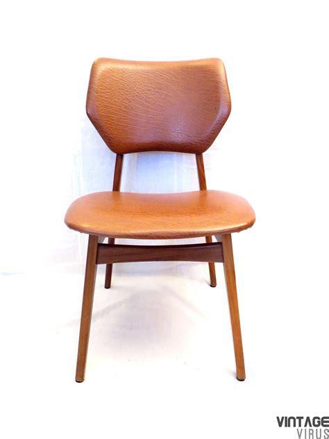 cognac bureau scandinavisch design skaileren cognac bruine stoelen uit