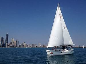 Semi-Private Sailboat Charters - Chicago Sailboat Charters