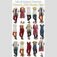 Modcloth Mix And Match Wardrobe Summer To Fall  Style On Main