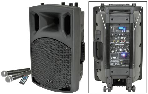 Qtx Qx12pa 100w Portable Pa System With Usb/sd/fm