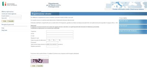 Cittadinanza Interno It Conferma Registrazione Guida Alla Presentazione Della Domanda Di Cittadinanza