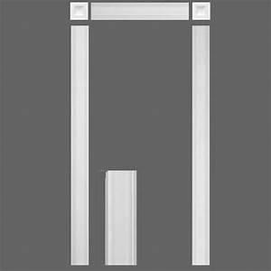 kit encadrement de porte orac decor kx001 With encadrement de porte bois
