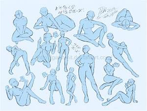 Female poses Reference 2 by GH07 on DeviantArt
