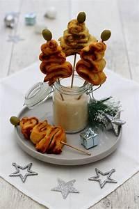 Apéritif Pour Noel : mini sapin feuillet pour un ap ro de no l express amandine cooking ~ Dallasstarsshop.com Idées de Décoration