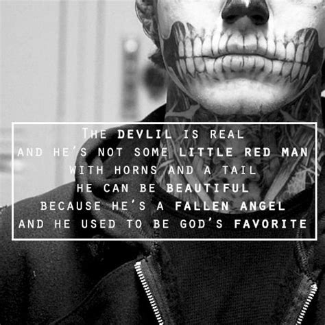 A god as you say is a devil to me, they're all the same as so are we. Angel Vs Devil Quotes. QuotesGram