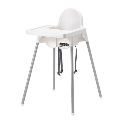 chaise haute bébé ikea antilop structure chaise haute tablette ikea