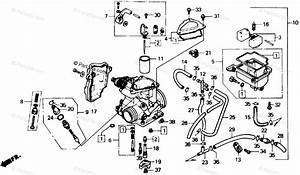 Honda Atv 1986 Oem Parts Diagram For Carburetor