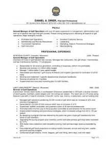 golf professional resume sle artist resume template sle free resume exles amazing 10 best college golf resume template