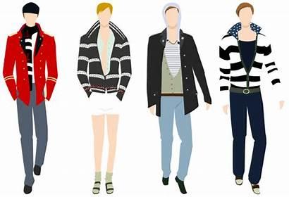 Clipart Male Mens Clothing Suit Clothes Models