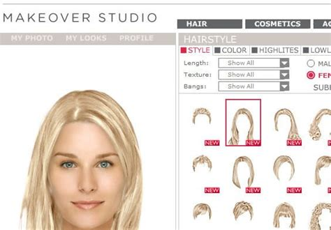 DailyMakeover: Online Virtual Makeover Site