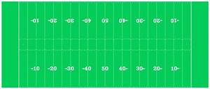 An American Football Field Diagram (NFL mode) by ...