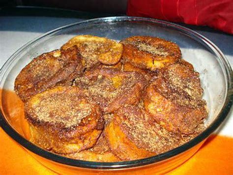 recettes de cuisine portugaise recette de rabanadas à portugaise perdu