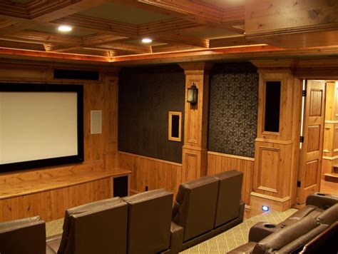 Basement Theater Room  Utah Basement Finishing Utah