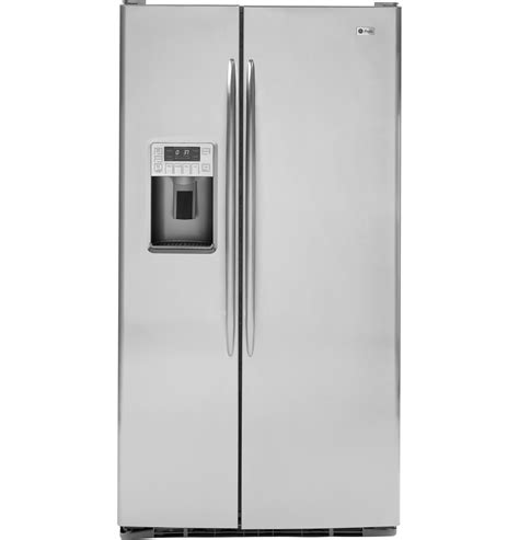 ge profile energy 174 29 1 cu ft side by side refrigerator with dispenser pshs9pgzss ge
