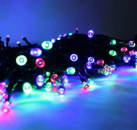 tree light solar garden twinkle light 50leds