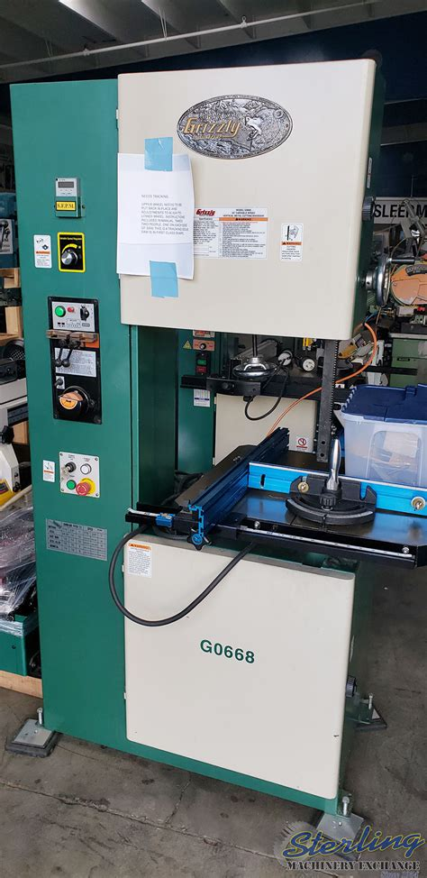 grizzly vertical bandsaw metal cutting sterling