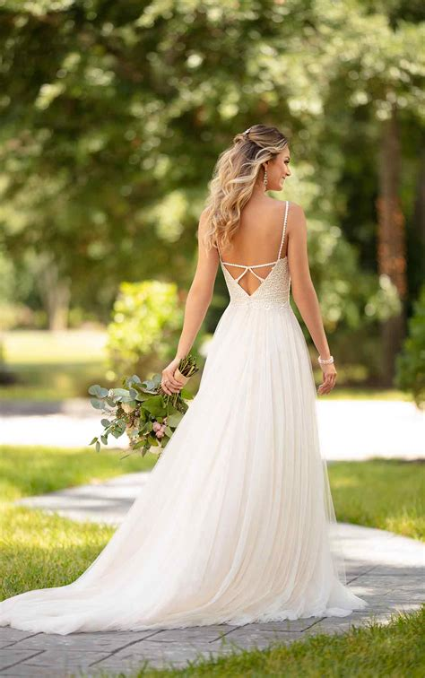 Casual Wedding Dress With Back Detail Stella York
