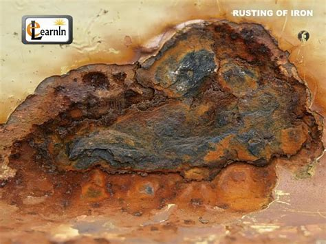 iron rusting science cn vom b4a