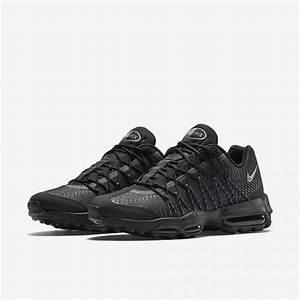Nike Air Max 95 Ultra. nike air max 95 ultra essential negra gris ... 652888f3d