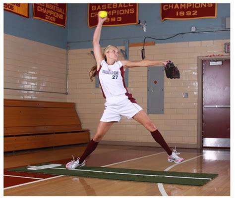 jennie finch softball powerline pitching mat