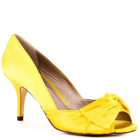 luichiny yellow pumps heels com