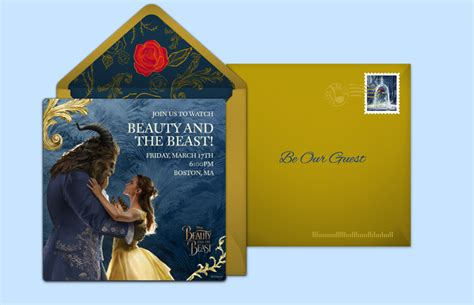 and the beast invitation template free and the beast invitations and the beast invitations punchbowl