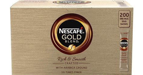 Whereas nescafe gold is less roasted and has more flavor and less caffine. Nescafé Gold Blend 1.8g • Find lowest price (14 stores) at PriceRunner
