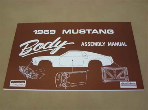 mlt  body assembly manual    ford mustang