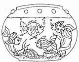 Fish Tank Coloring Clipart Aquarium Tanks Printable Clip Georgia Goldfish Colouring Mutiple Ausmalbilder Template Fische Drawing Onlycoloringpages Netart Bowl Sheets sketch template