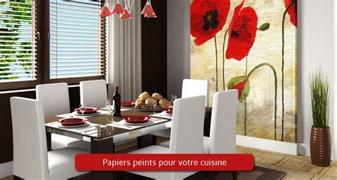papier peint ou tableau pour cuisine d 233 coration parfaite
