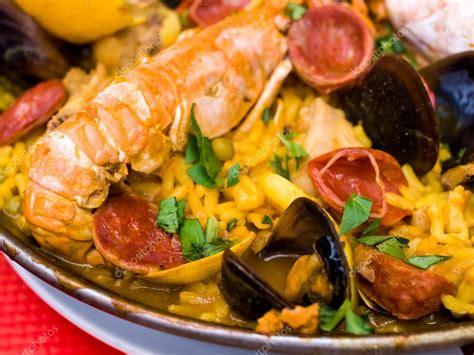 cuisine traditionnelle espagnole paella cuisine espagnole traditionnelle photographie