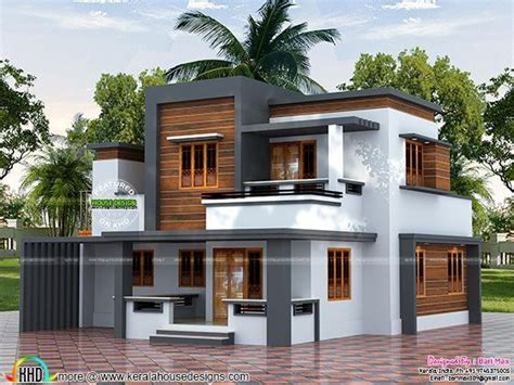 lakh cost estimated modern house modern house