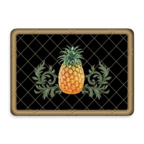 pineapple door mat buy pineapple outdoor mats from bed bath beyond