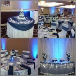 pinterest navy silver weddings navy blue  silver