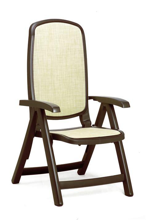 nardi delta resin sling  position folding patio chair