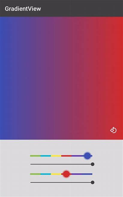 Gradient Android Simplest Possible Way Usage