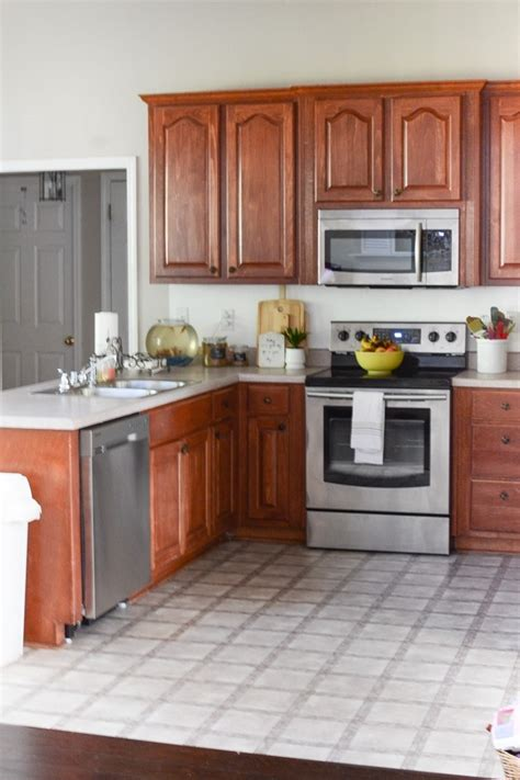 painted kitchen cabinets makeover  magnolia paint