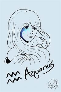 The 12 Horoscope: Aquarius by Onosaka-Yuha on DeviantArt