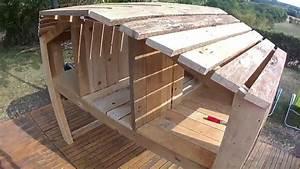 Construire Un Poulailler En Bois : comment fabriquer un poulailler en palette youtube ~ Melissatoandfro.com Idées de Décoration