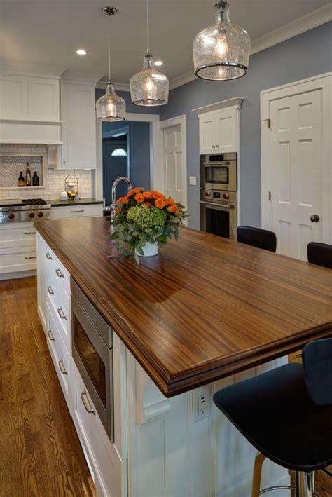 sapele mahogany kitchen island top designed  drury