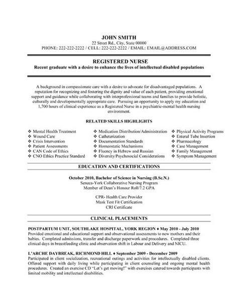click     registered nurse resume