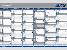 Kalender 2018 Arbejdsdage kalender HD