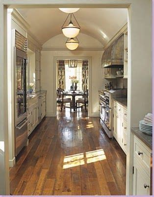 Nice Idea For My Galley Kitchen And Love Of French Country