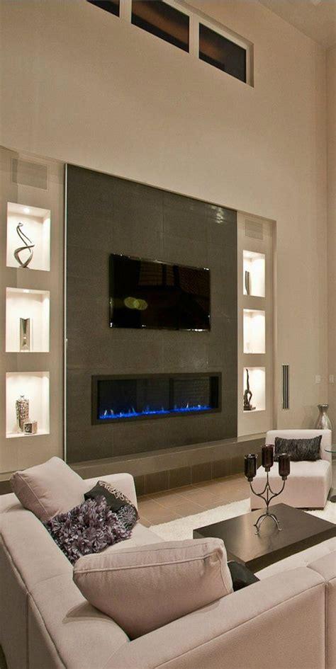 contemporary fireplace decorating idea 5