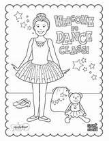 Ballet Dance Coloring Class Sleeping Printable Tap Dancer Dancing Teacher Infantil Teach Clases Dibujos Recital Ballroom Escuelas Barra Poses Danza sketch template