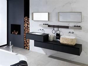 bois ou carrelage pour le sol de la salle de bain viving With salle de bain porcelanosa